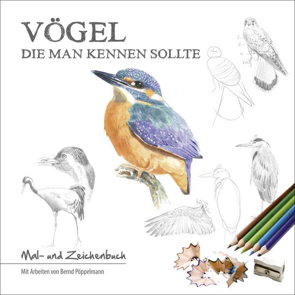 Vögel die man kennen sollte, Malbuch