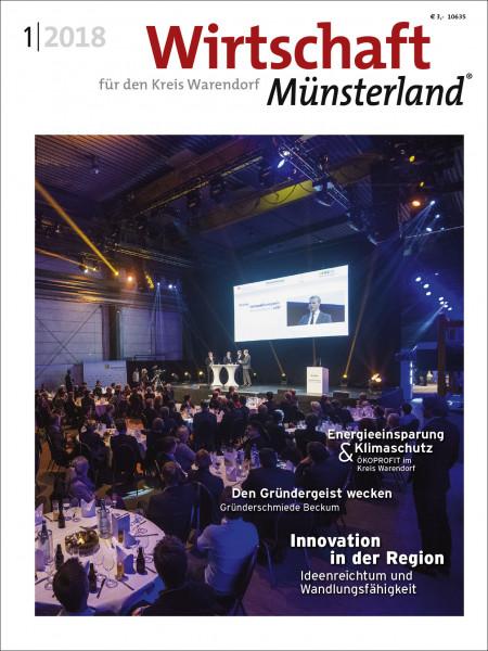 Wirtschaft Münsterland (WAF) 1/2018