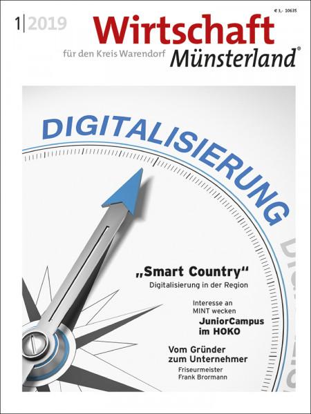 Wirtschaft Münsterland (WAF) 1/2019