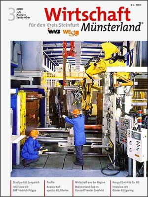 Wirtschaft Münsterland 3/2008