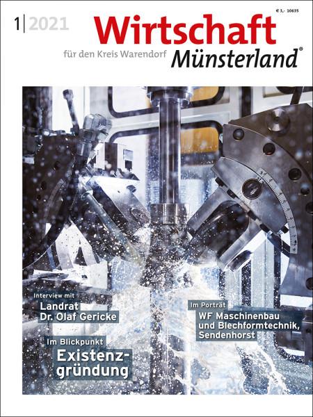 Wirtschaft Münsterland (WAF) 1/2021