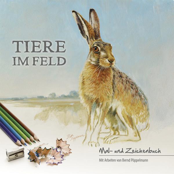 Tiere im Feld, Malbuch